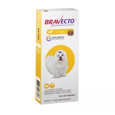 Antipulgas e Carrapatos Bravecto MSD para Cães até 4,5 kg