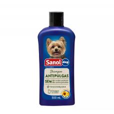 Shampoo Antipulgas Sanol Dog para Cães