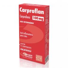 Carproflan Agener União 100mg 14 Comprimidos