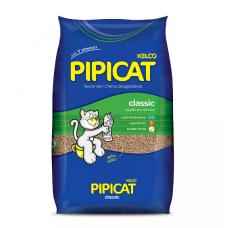 Areia Higiênica Pipicat Classic para Gatos 12kg