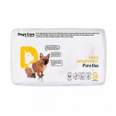 Fralda Higiênica Eco Dogs Care para Cães Machos 24 unidades