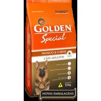 Ração Premier Golden Special Cães Adultos Frango e Carne - 15 Kg